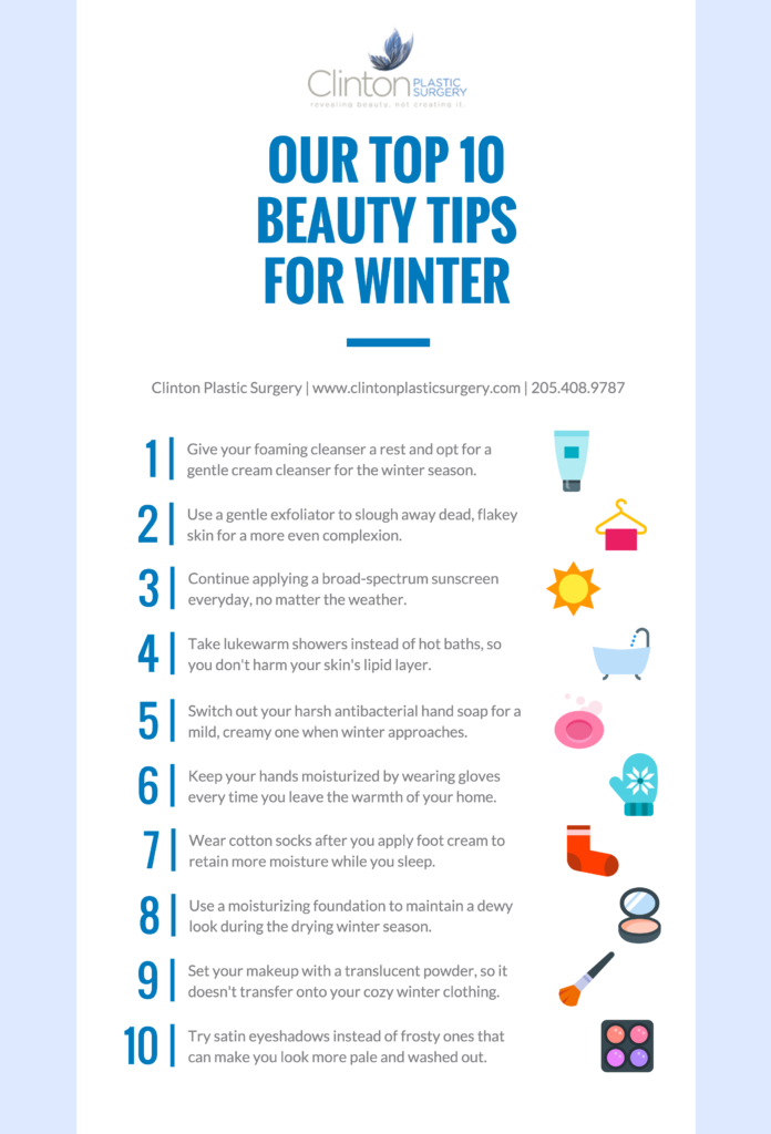 Top 10 Winter Beauty Tips
